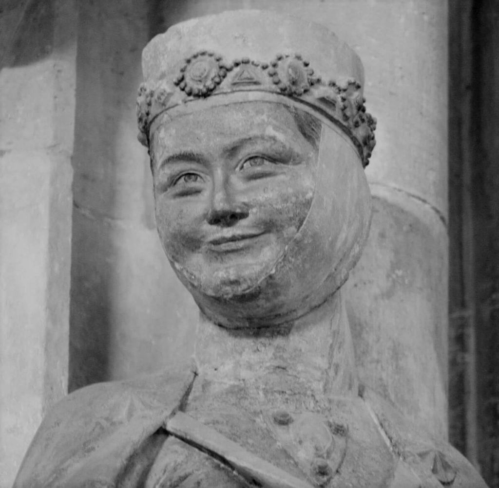 Reglindis, Statue im Naumburger Dom