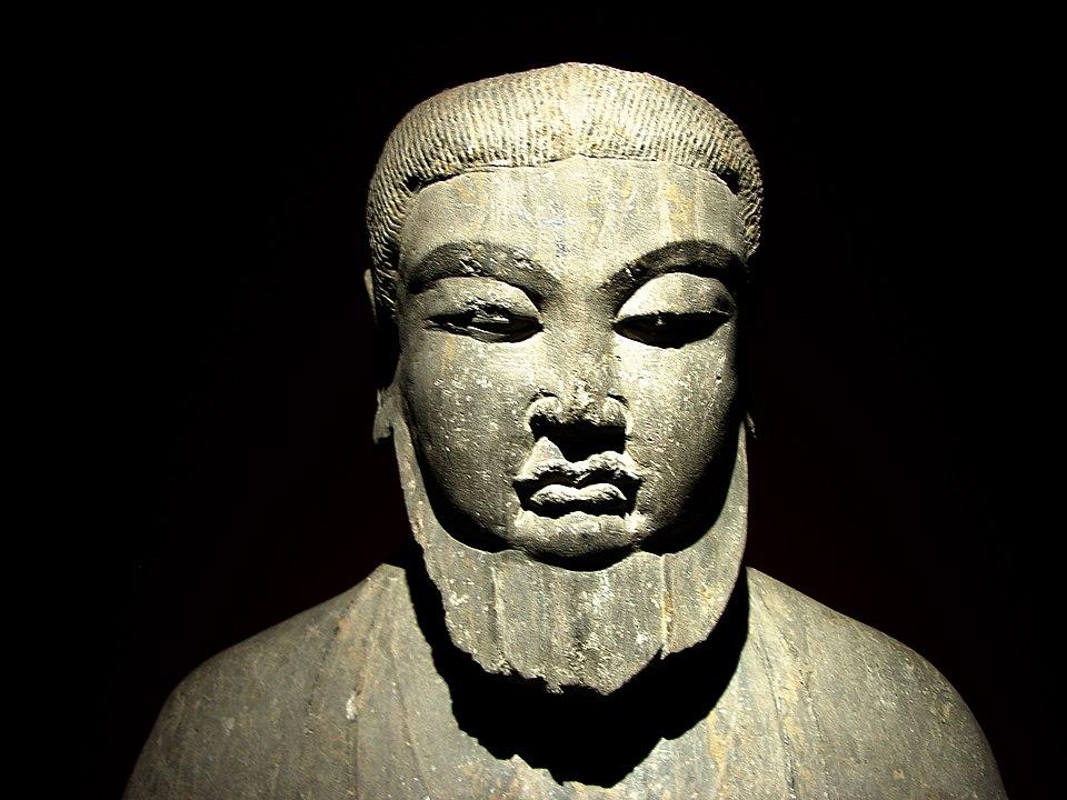 Chinesischer Gelehrter, Tang-Dynastie (6.-9. Jh. n.Chr.), Shanghai-Museum