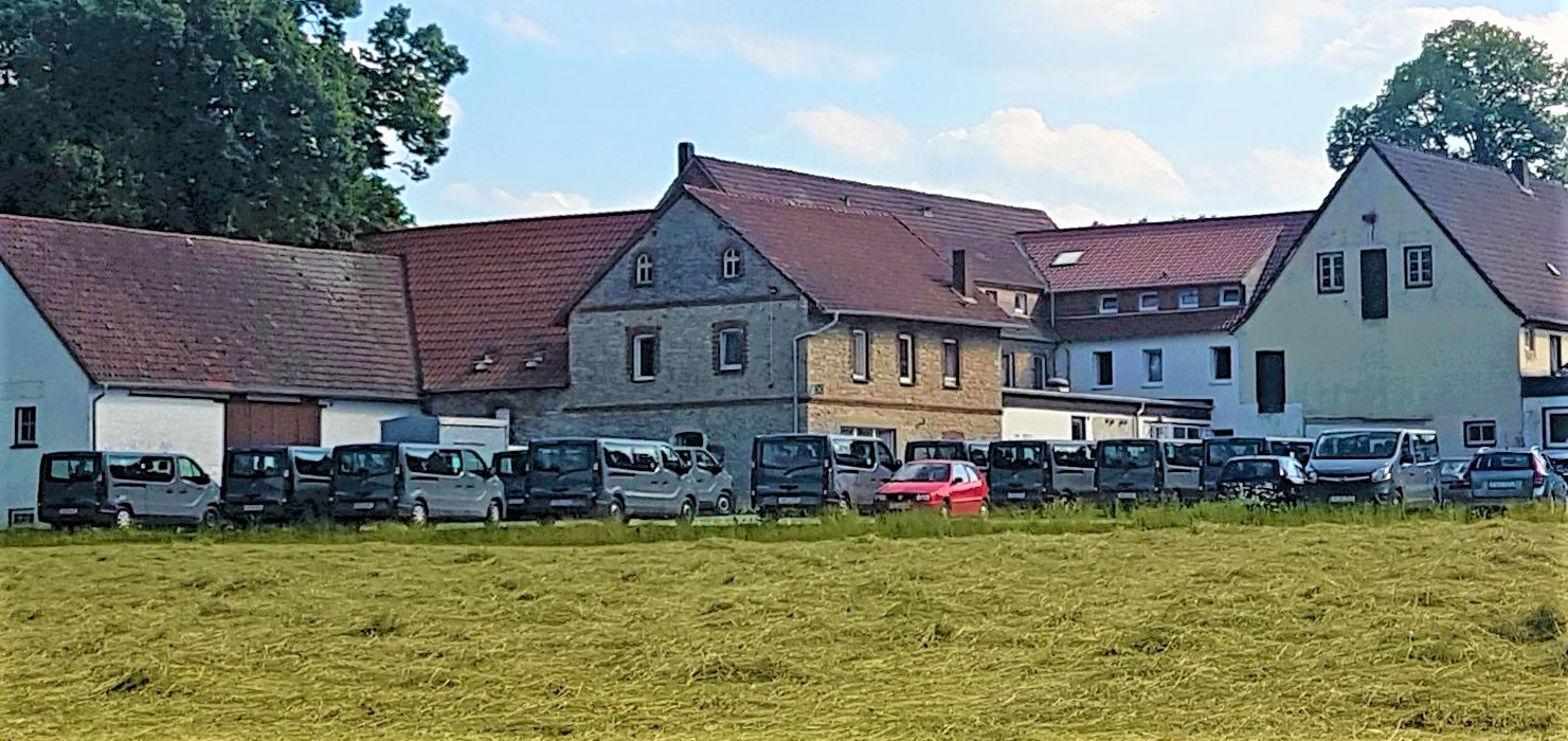 Fuhrpark für den Sklaventransport