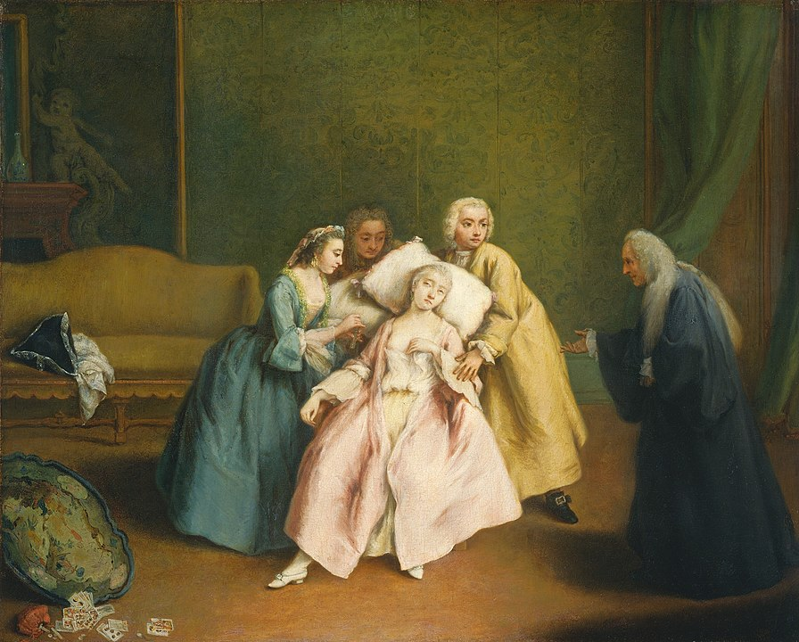 Pietro Longhi, Die Ohnmacht (National Gallery of Art, Washington D. C.)