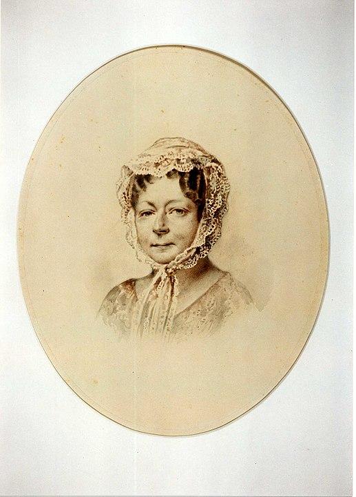 Lucie von Hardenberg, Photographie aus dem Jahr 1853
