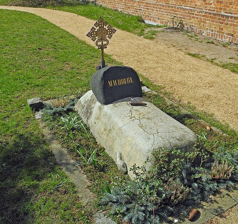 Machbubas Grab auf dem Friedhof der Jakobuskirche in Bad-Muskau