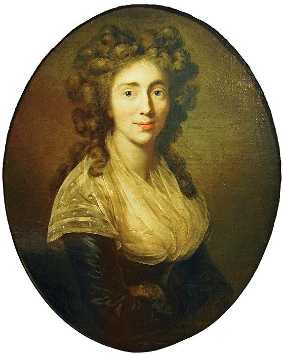 Sophie Charlotte v. Redern. Gemälde von Anton Graff (Goethe-Museum, Frankfurt a. M.)