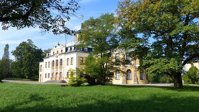 Belriguardo in Weimar. Schloss Belvedere